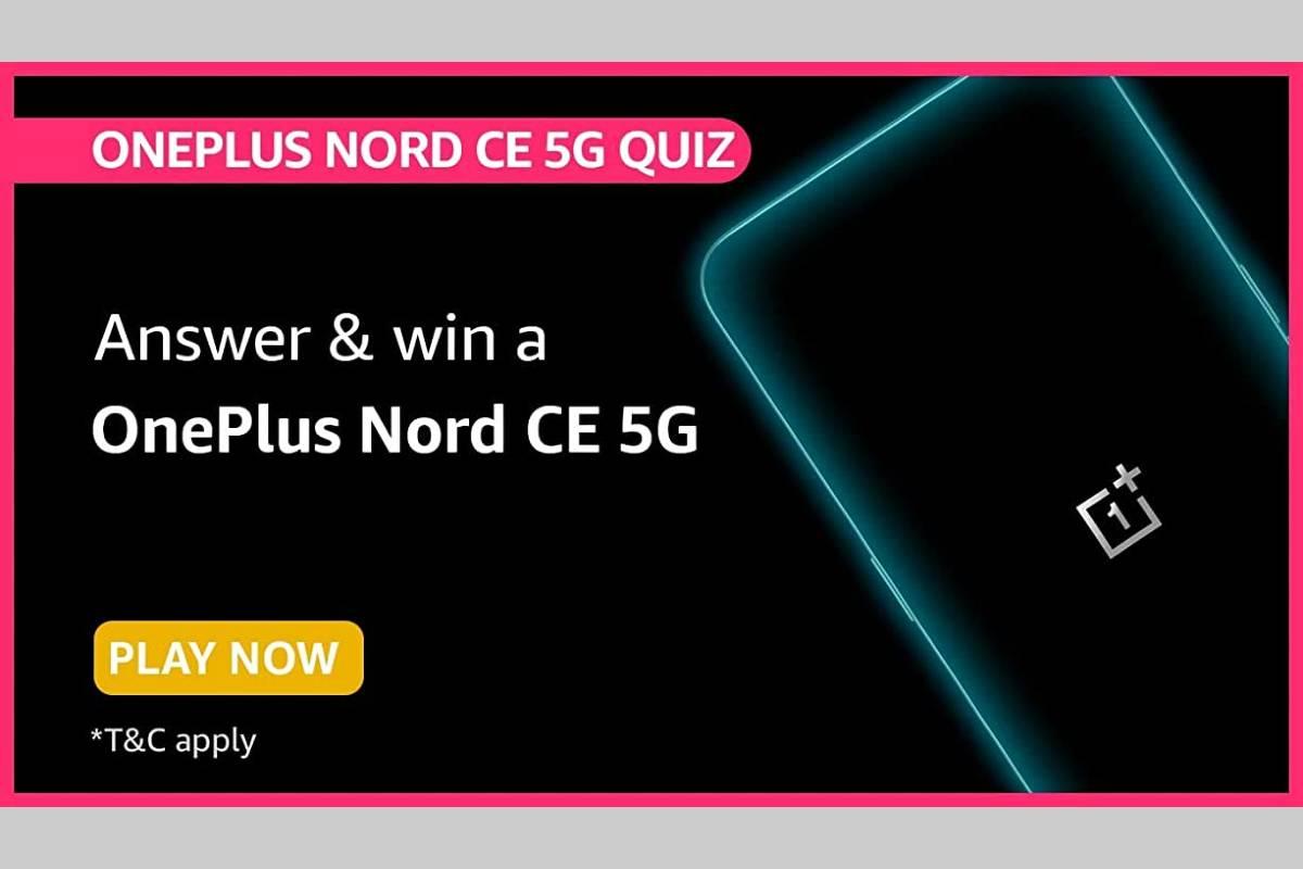 Amazon OnePlus Nord CE 5G Quiz