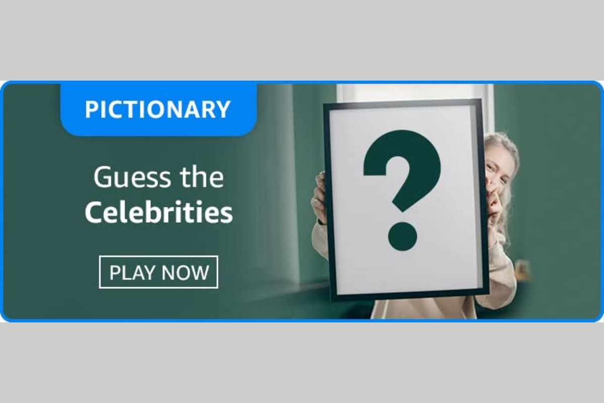 Amazon Pictionary (Guess The Celebrities) Quiz