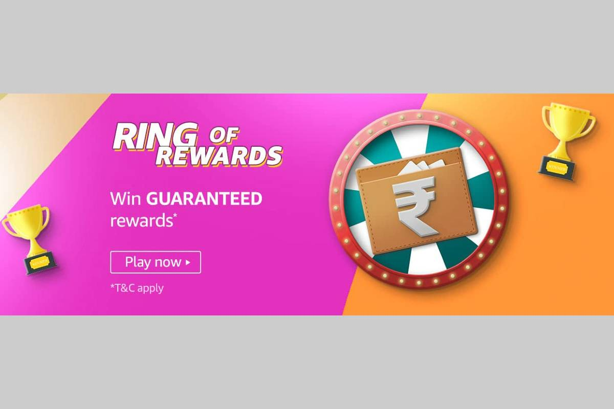 Amazon Ring of Rewards Spin and Win Quiz