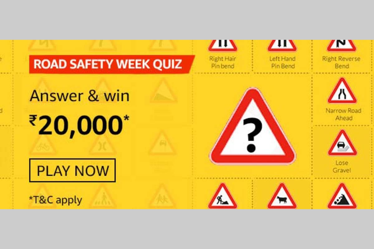Amazon Road Safety Week Quiz