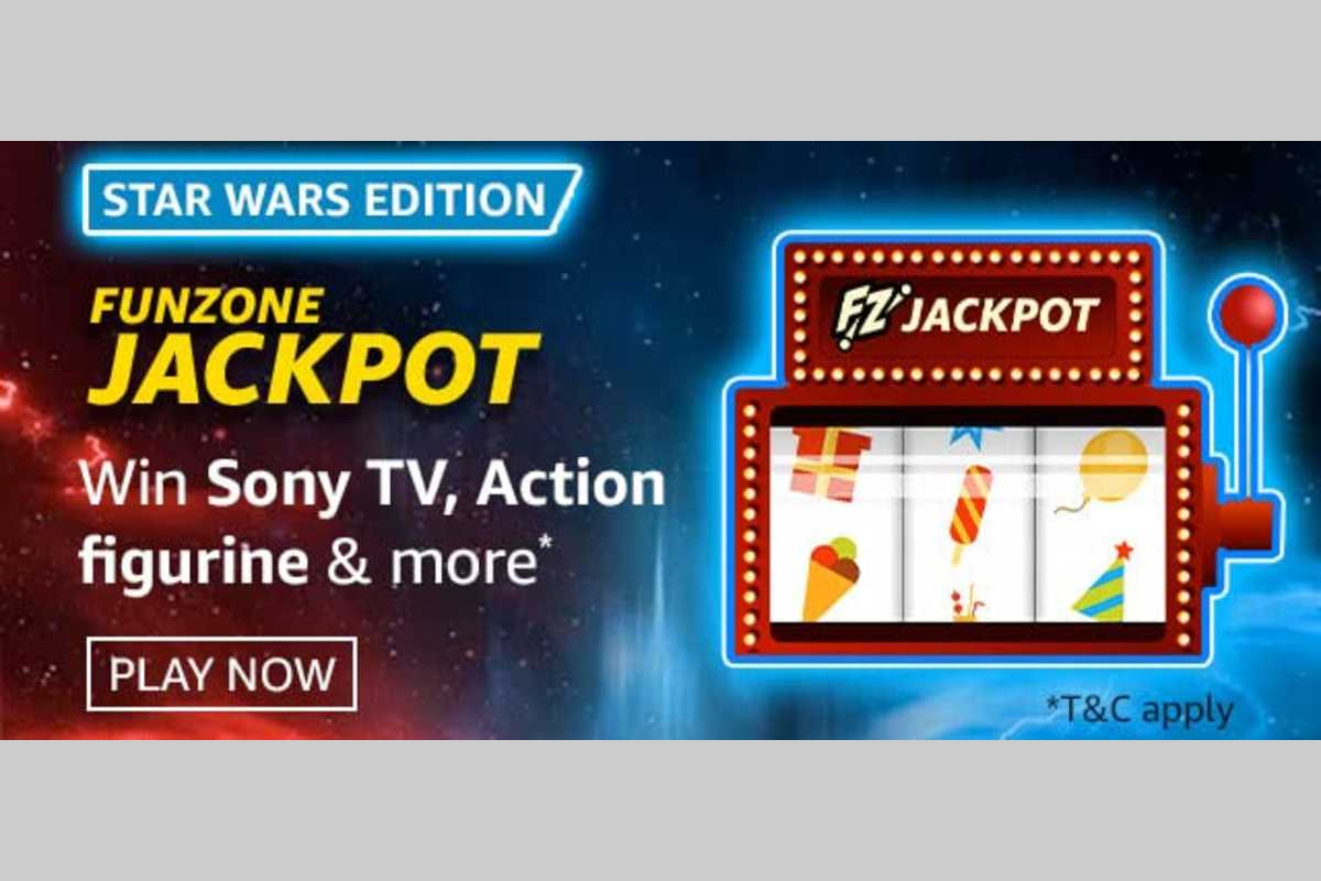 Amazon Star Wars Edition Funzone Jackpot Quiz