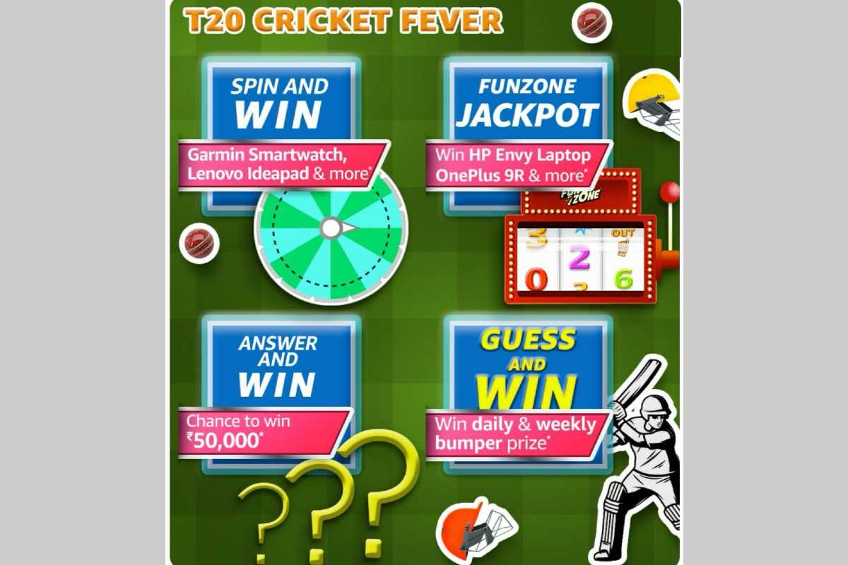 Amazon T20 Cricket Fever Quiz
