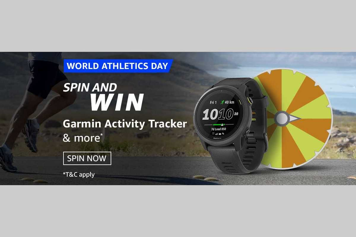 Amazon World Athletics Day Spin and Win Quiz