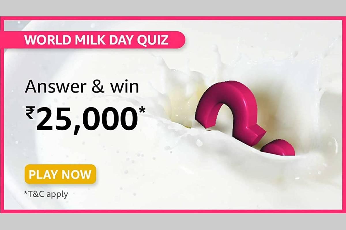 Amazon World Milk Day Quiz