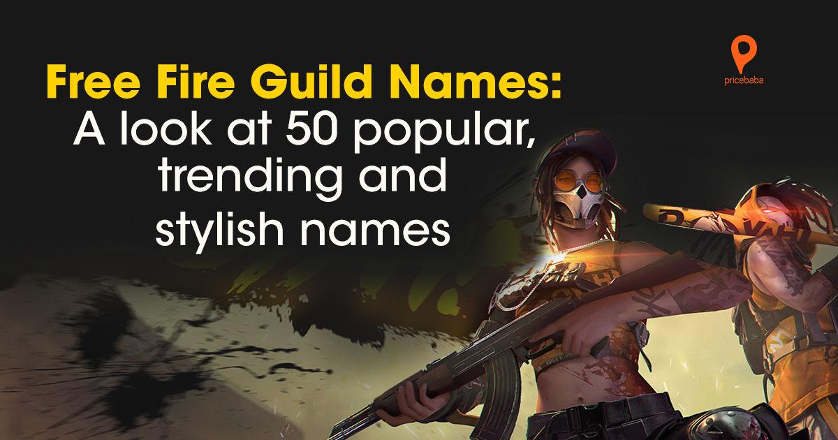 Free Fire Guild names: best stylish and unique guild names ...