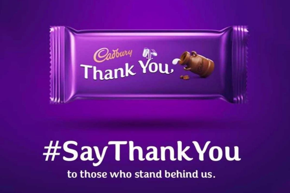 Jio Cadbury #SayThankYou campaign is live on MyJio app