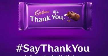 Jio Cadbury #SayThankYou campaign is live on MyJio app