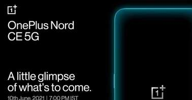 OnePlus Nord CE 5G launch poster-