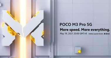 POCO M3 Pro 5G launch date