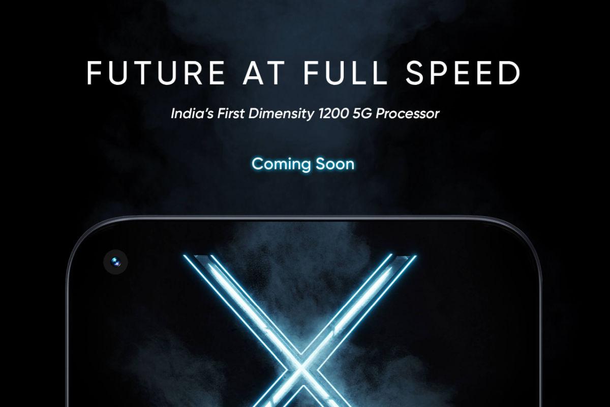 Realme X7 Max 5G teaser
