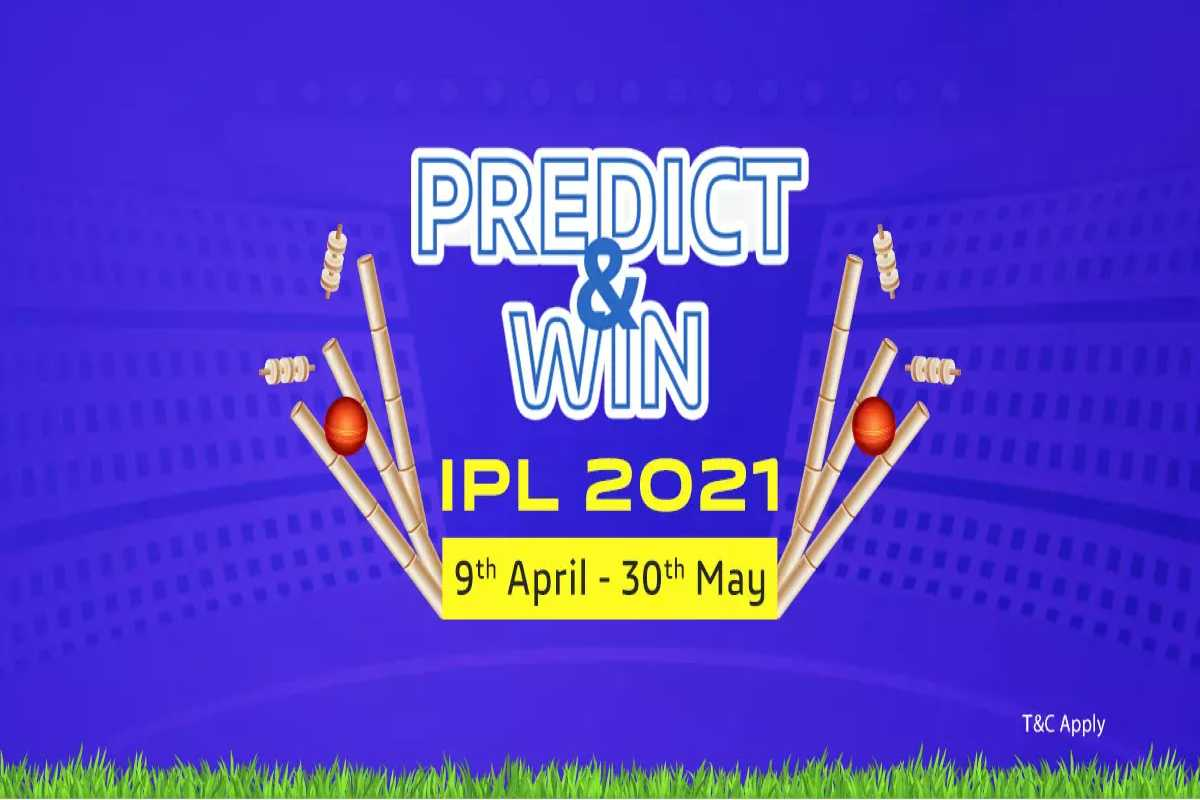 Vivo IPL Predict and Win 2021 contest