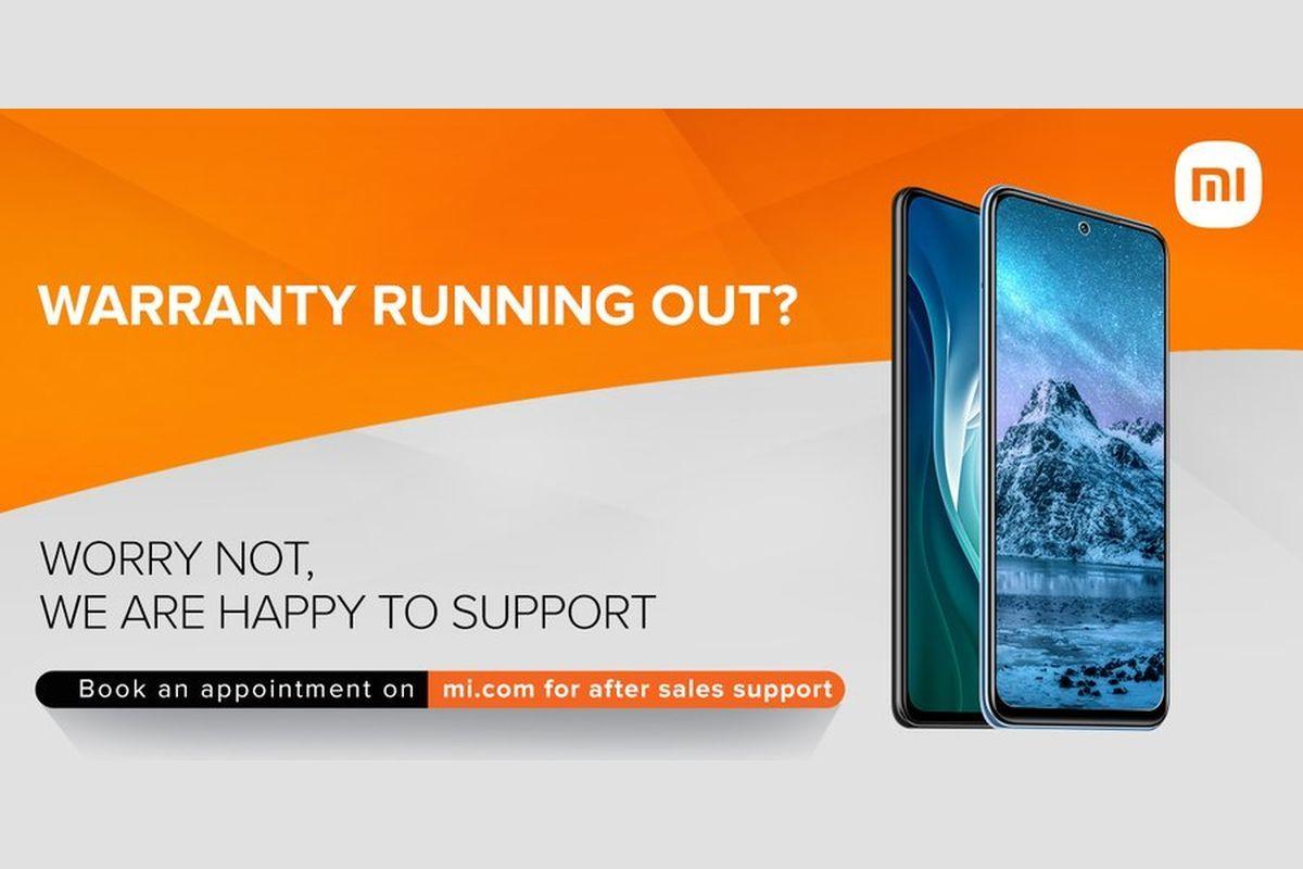 Xiaomi extended warranty-
