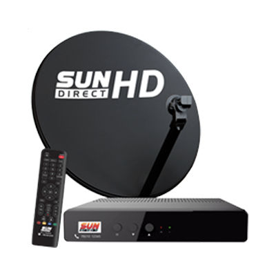 Sun Direct is among the top 5 DTH service providers in India