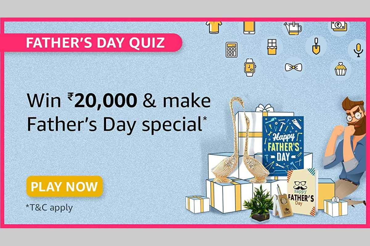 Amazon Father's Day Quiz