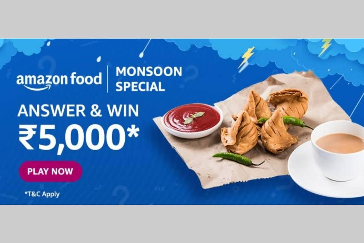 Amazon Food Monsoon Special Quiz