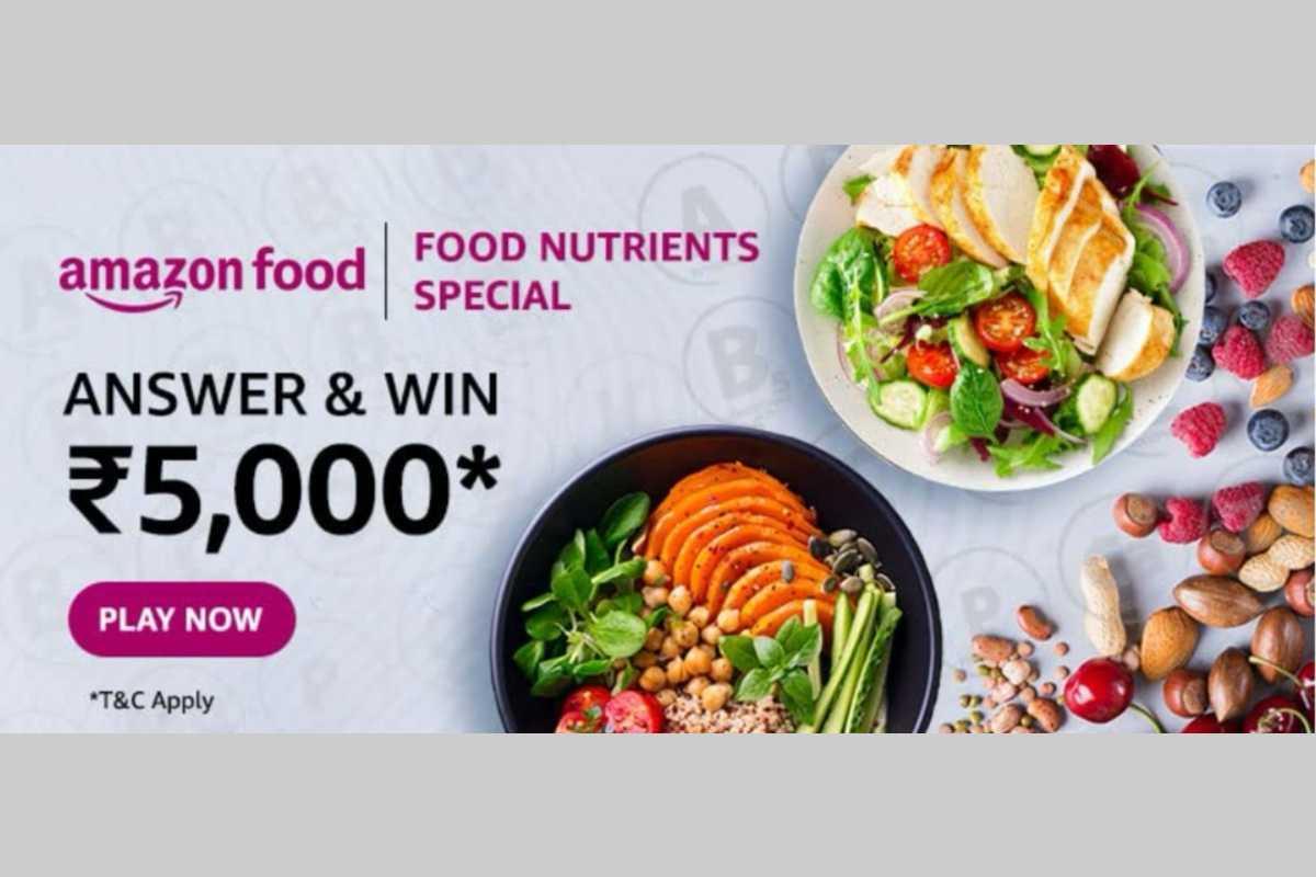 Amazon Food Nutrients Special Quiz