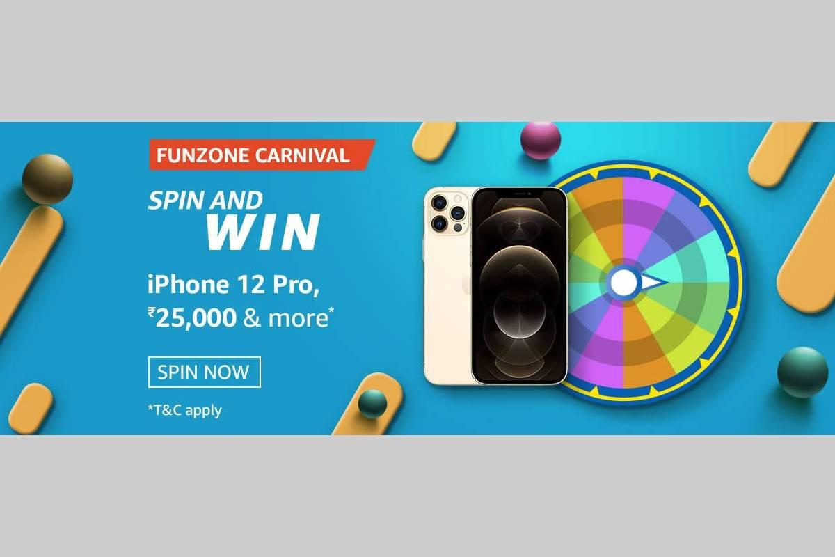 Amazon Funzone June Carnival Spin and Win Quiz