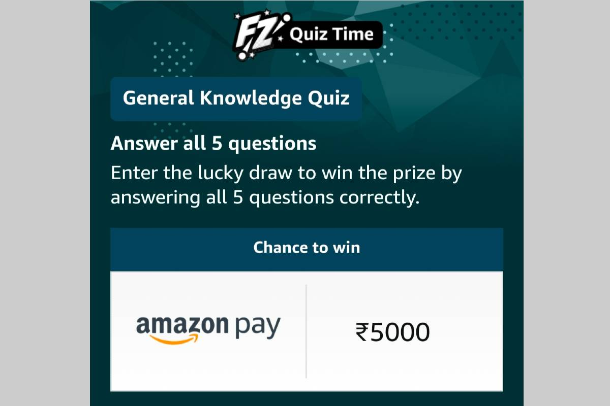 Amazon General Knowledge Quiz