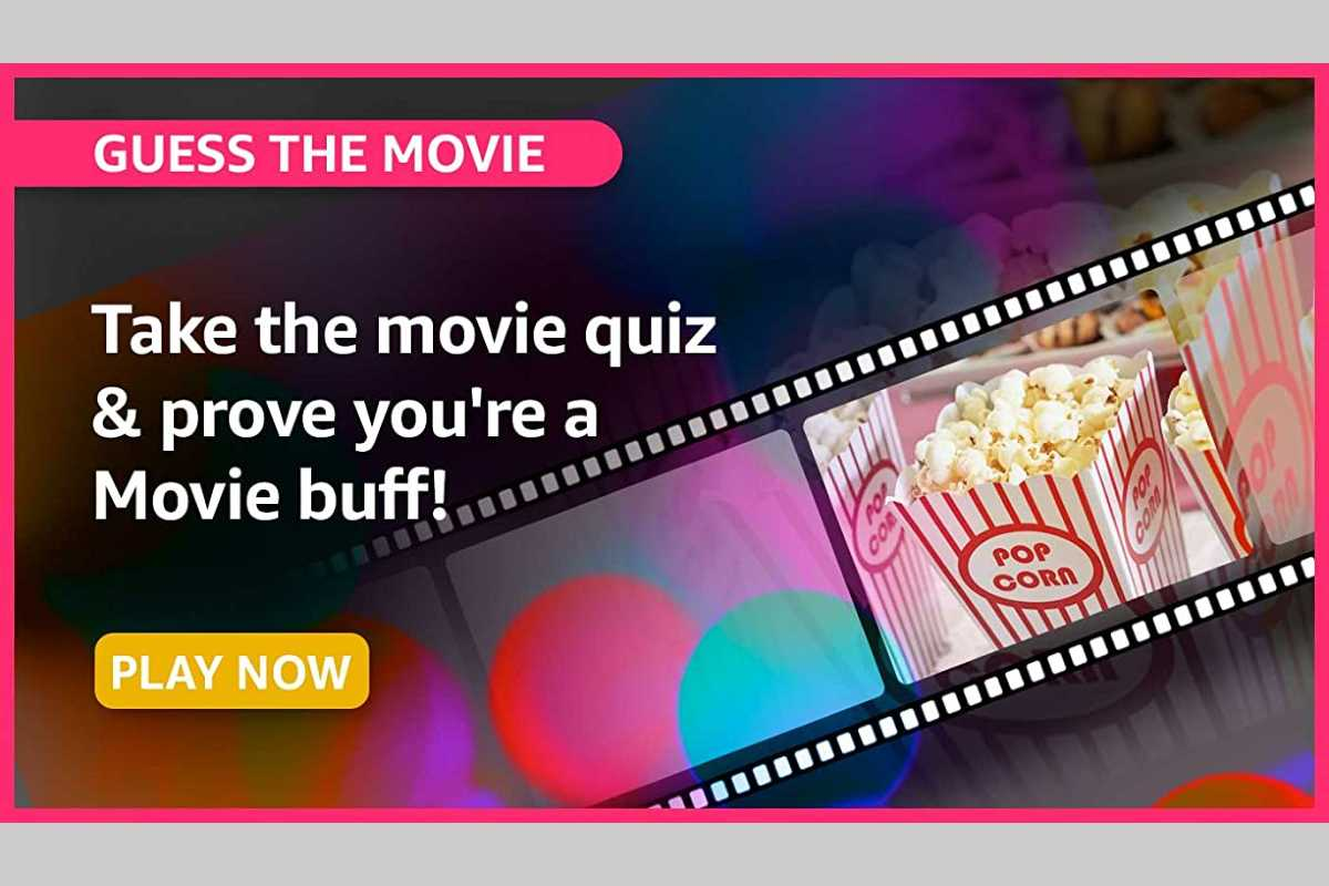 Amazon Guess The Movie Quiz