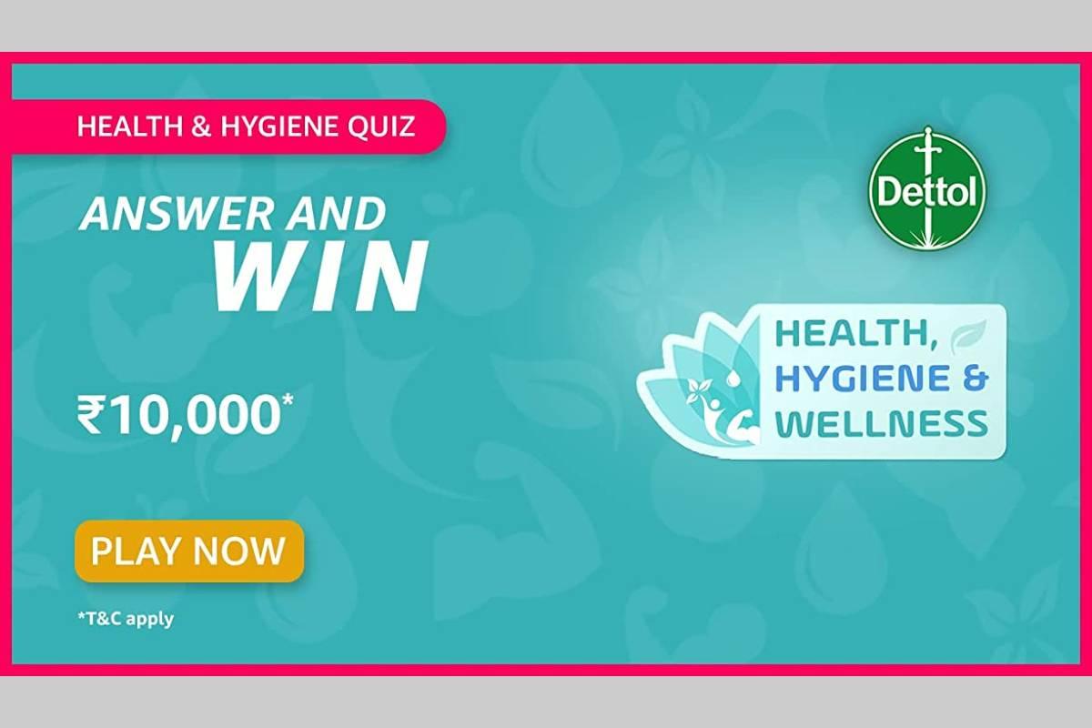 Amazon Health and Hygiene Quiz