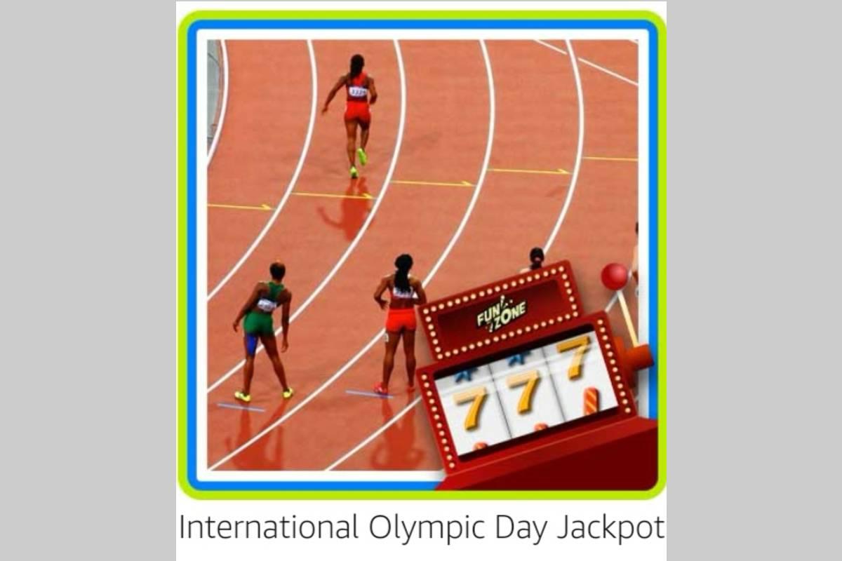 Amazon International Olympic Day Jackpot Quiz