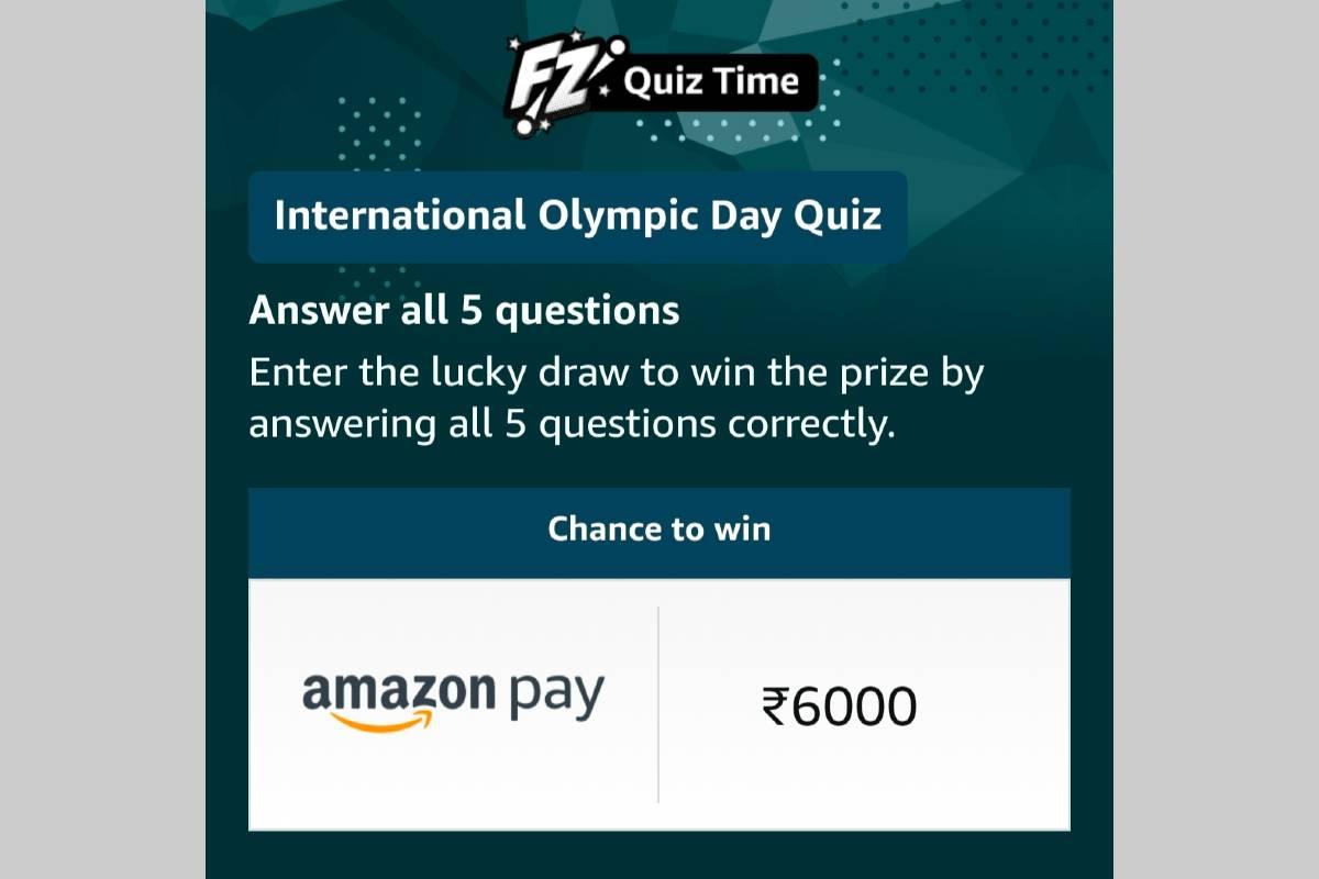 Amazon International Olympic Day Quiz
