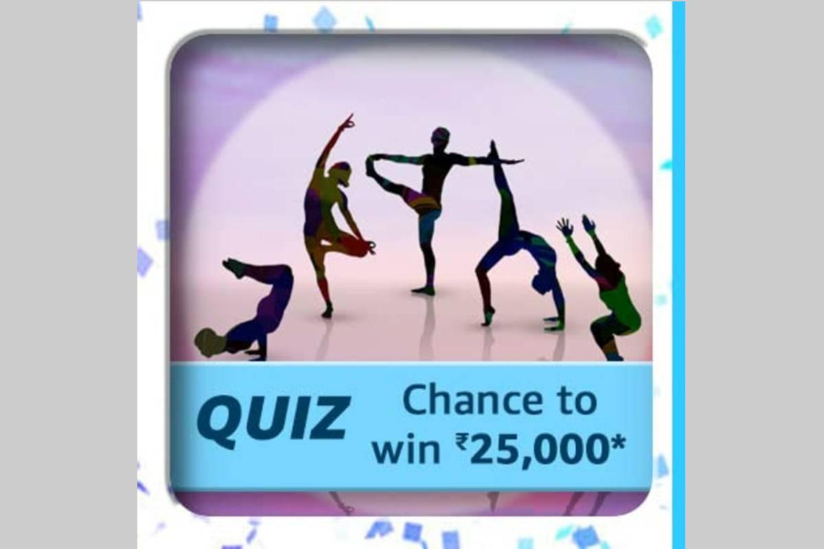 Amazon International Yoga Day Quiz