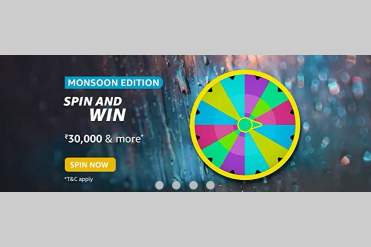 Amazon Monsoon Edition Spin and Win Quiz