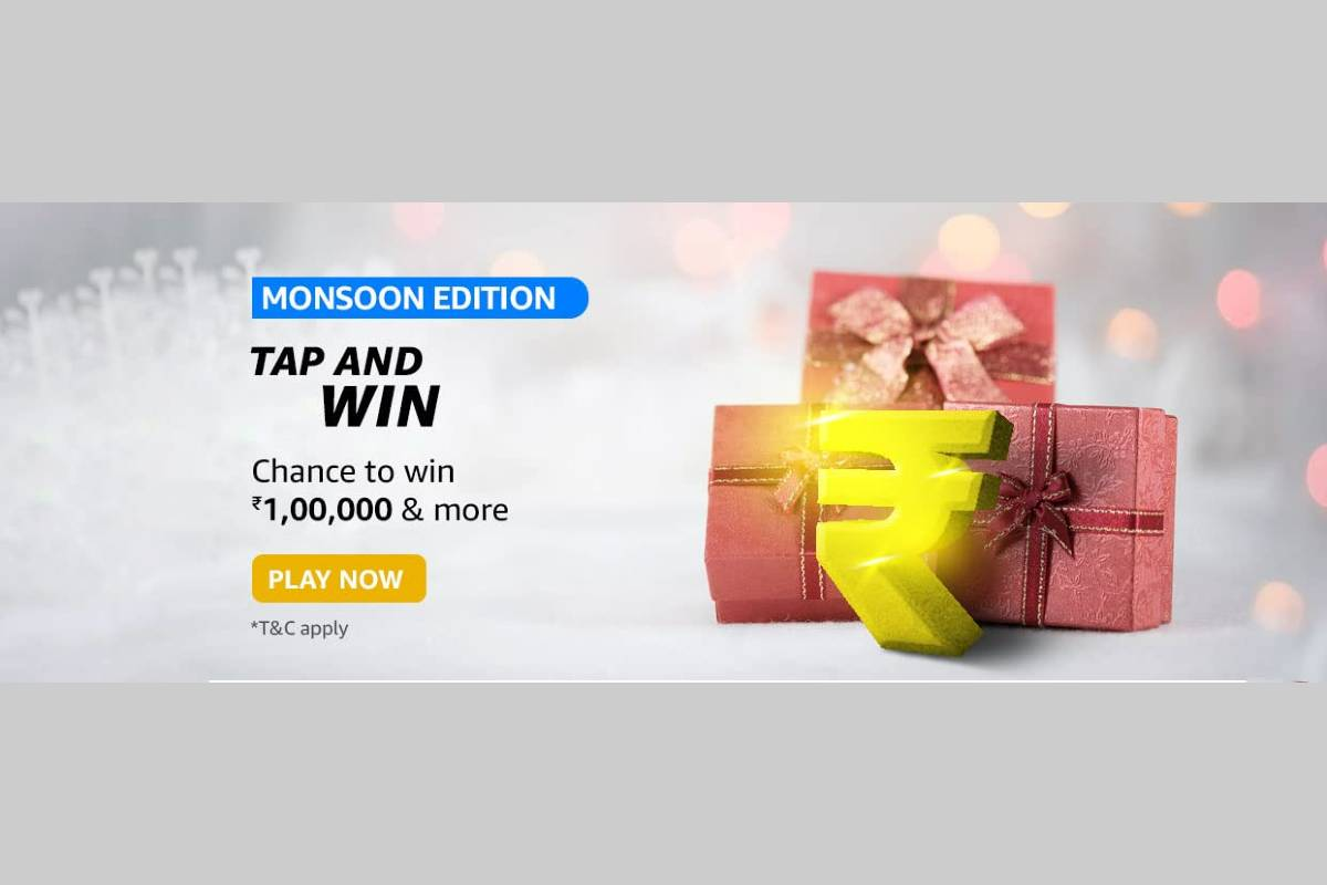 Amazon Monsoon Edition Tap and Win Quiz