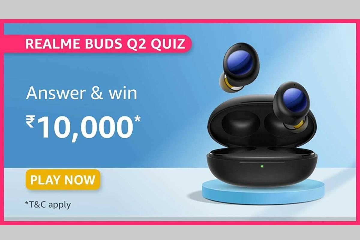 Amazon Realme Buds Q2 Quiz