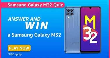 Amazon Samsung Galaxy M32 Quiz