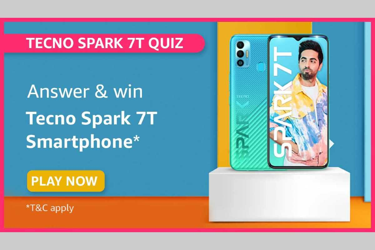 Amazon Tecno Spark 7T Quiz