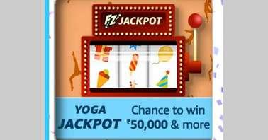 Amazon Yoga Jackpot Quiz