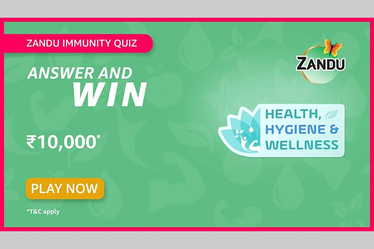 Amazon Zandu Immunity Quiz