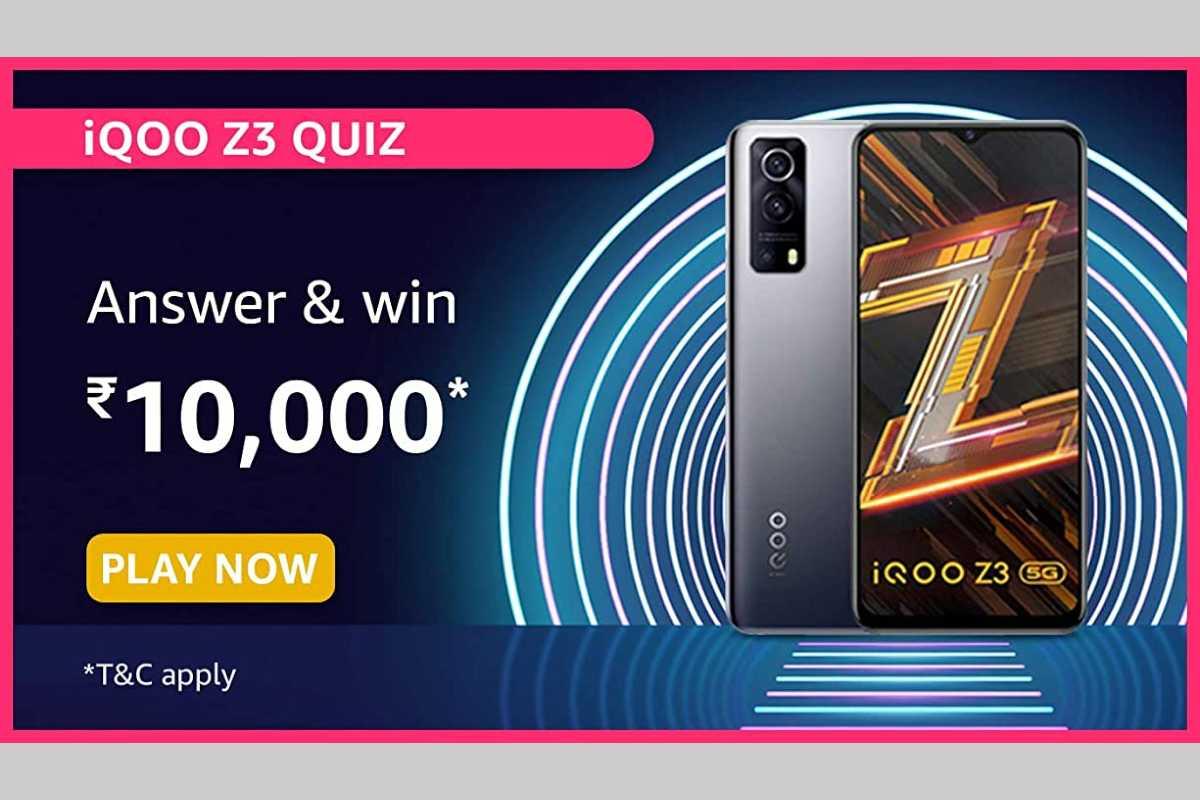 Amazon iQOO Z3 Quiz