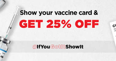 Boat COVID-19 vaccine proof offer