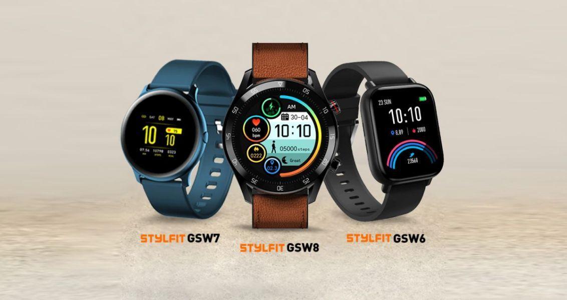 Gionee STYLFIT GSW6, GSW7, and GSW8-