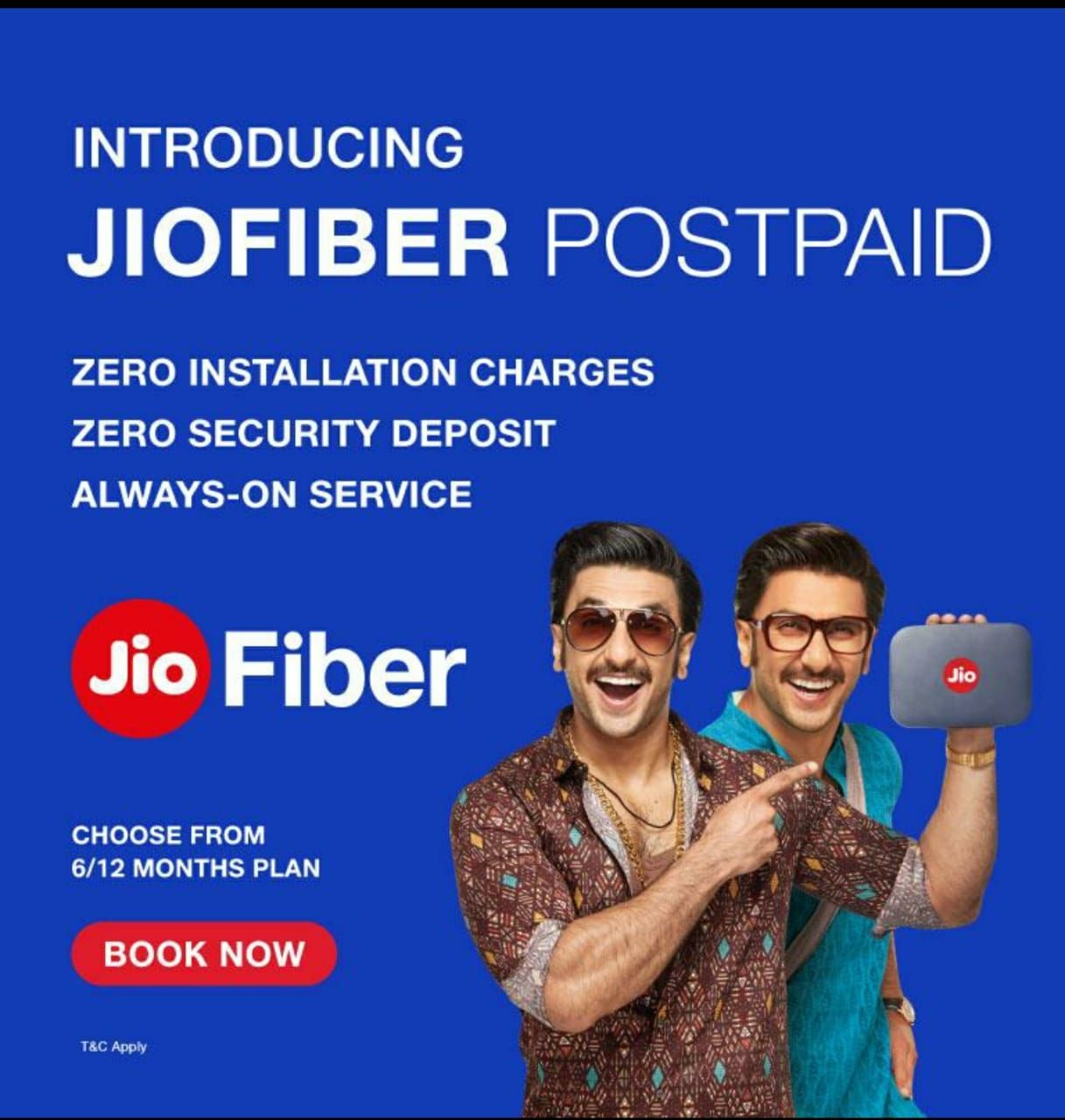 Jio launches Jio Fiber postpaid service for its users