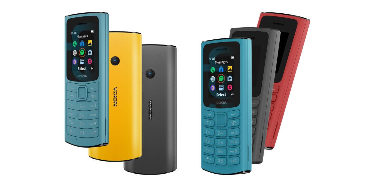 Nokia 110 4G and Nokia 105 4G-