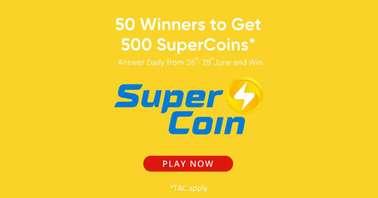 Realme DIZO Supercoins contest