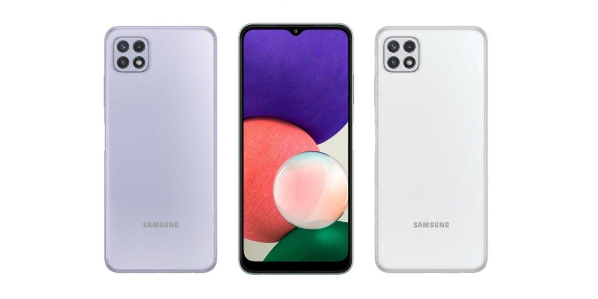 Samsung Galaxy A22 5G render-