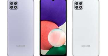 Samsung Galaxy A22 5G render