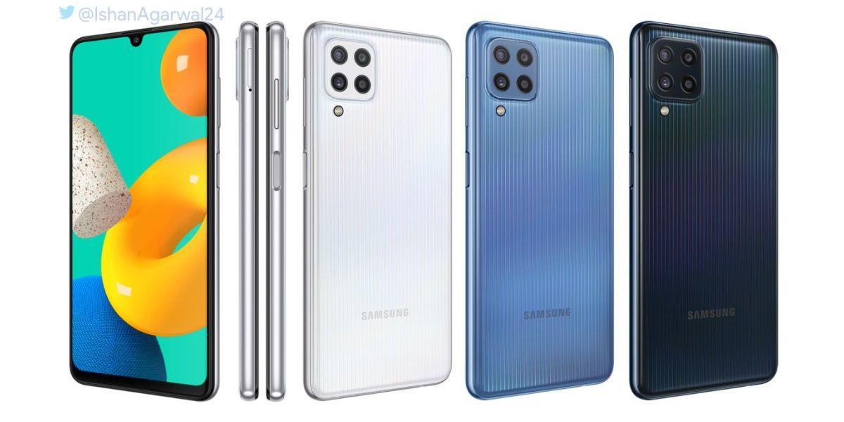 Samsung Galaxy M32 renders