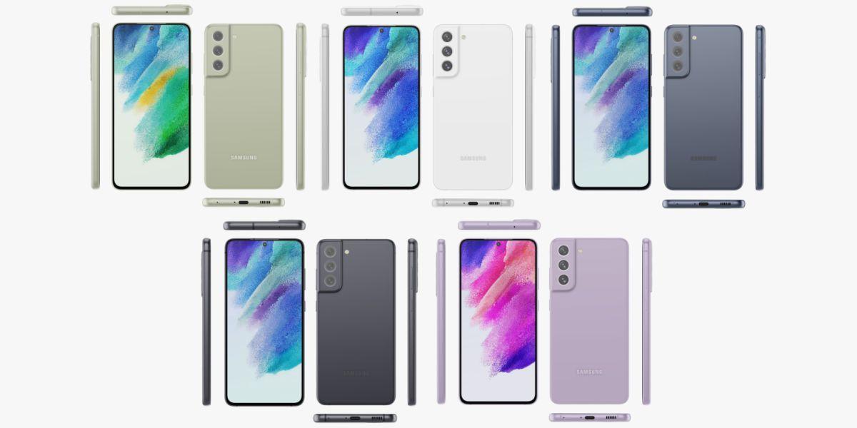 Samsung Galaxy S21 FE render new-