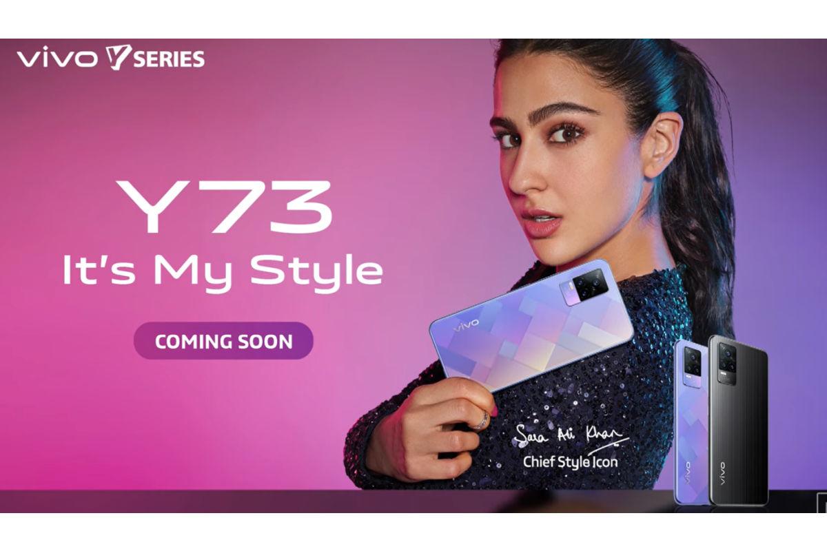 Vivo Y73 launch teaser