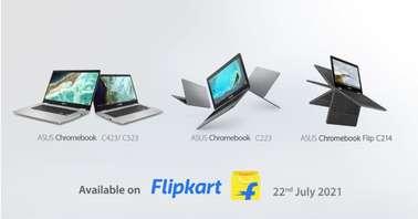 ASUS Chromebooks C223, Flip C214, C423 and C523