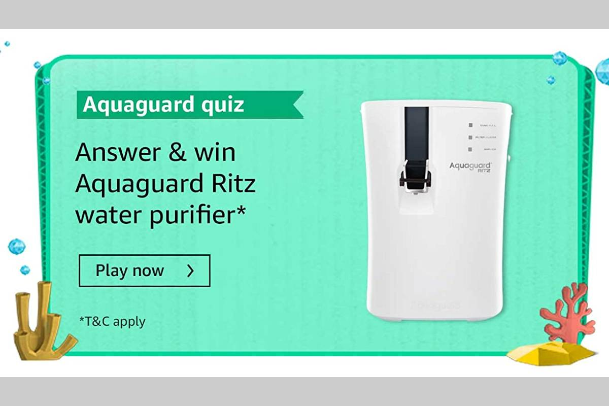 Amazon Aquaguard Quiz July 2021