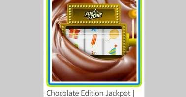 Amazon Chocolate Edition Funzone Jackpot Quiz