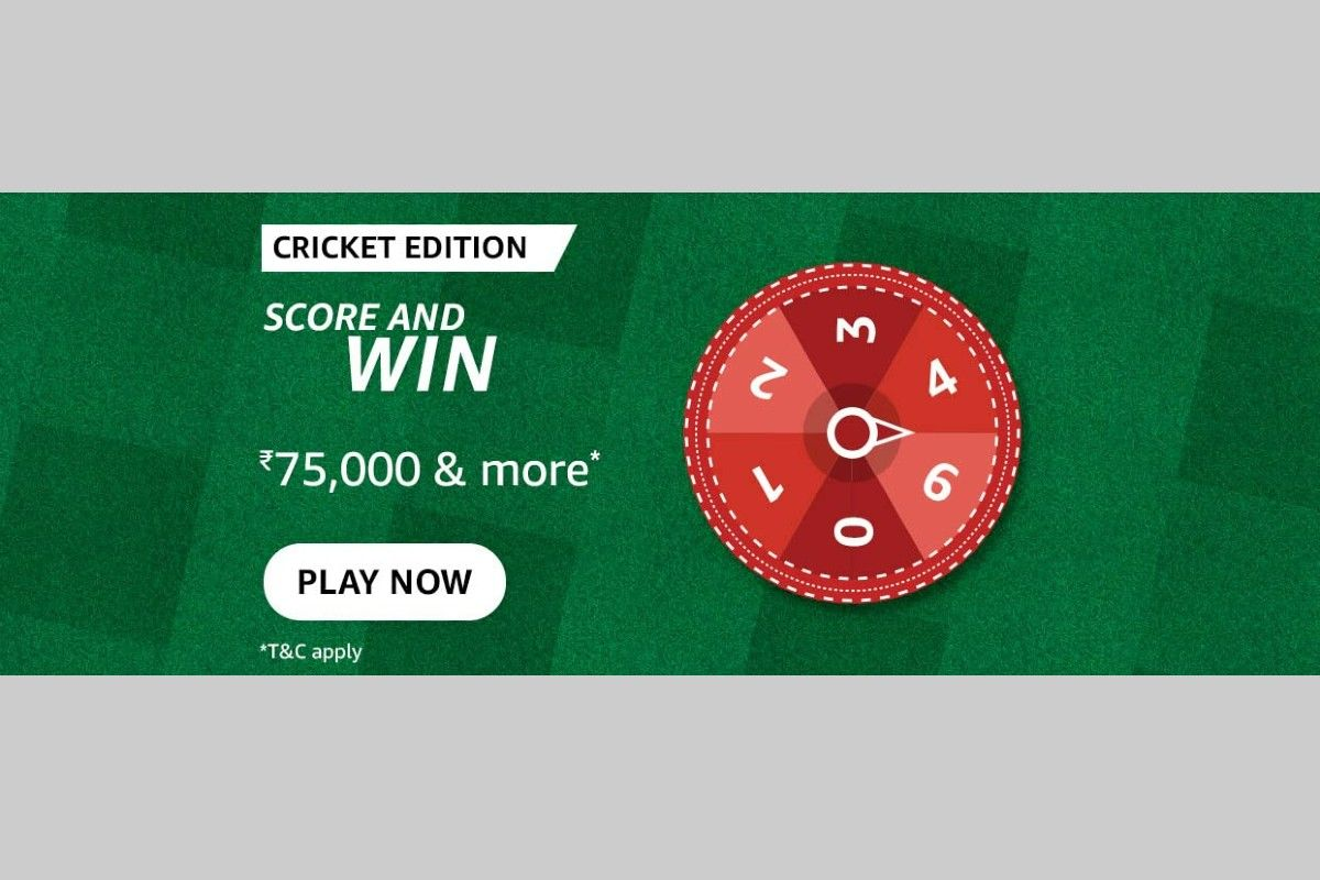 Amazon Cricket Edition Spin and Win Quiz
