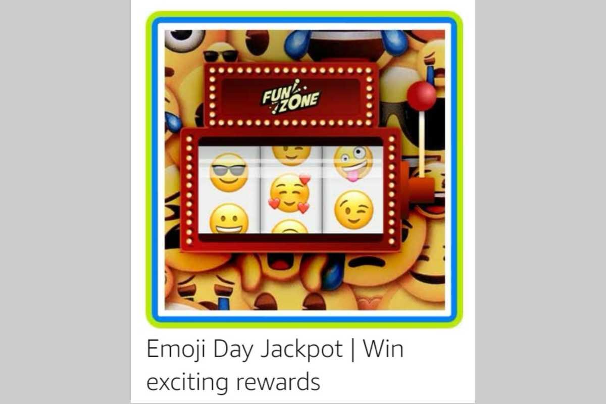 Amazon Emoji Day Funzone Jackpot Quiz